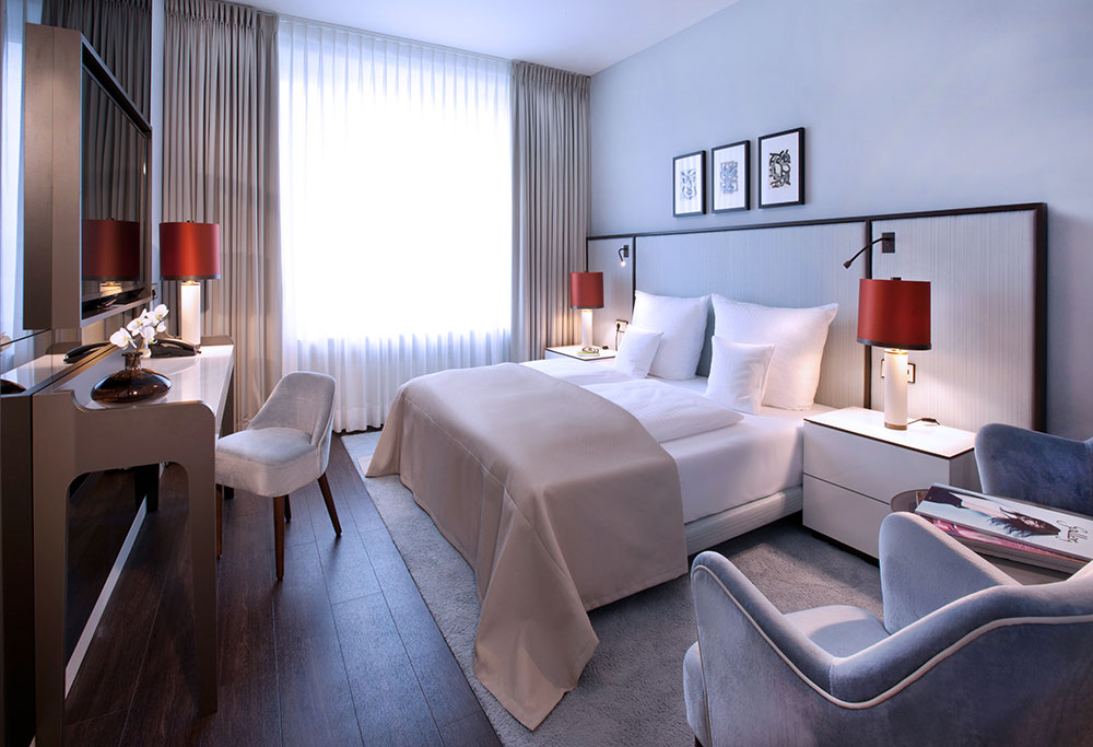 Hotelzimmer des AMERON Bonn Hotel Königshof – gesehen bei frauimmer-herrewig.de