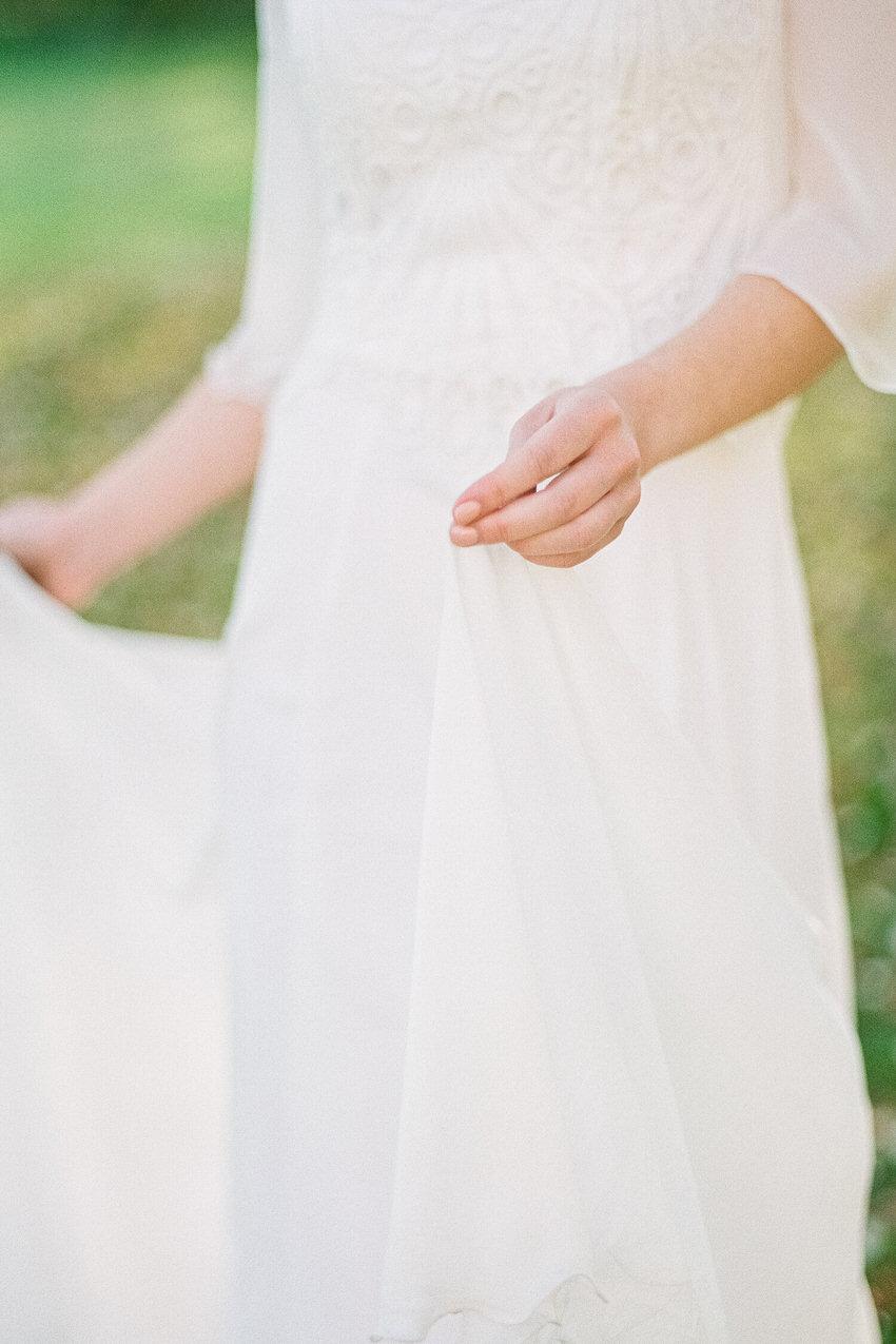 Brautkleid mit Macramé-Spitze – gesehen bei frauimmer-herrewig.de