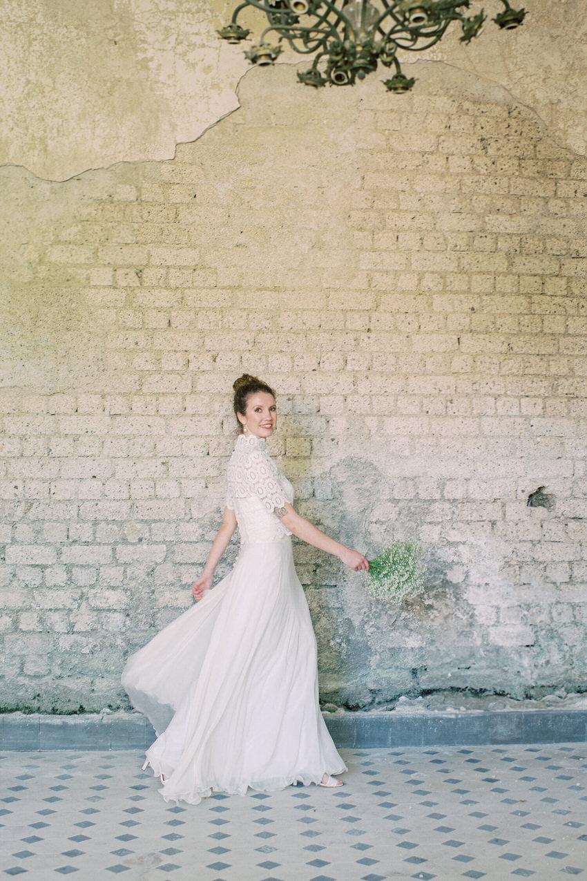 Brautkleid aus Seidenchiffon – gesehen bei frauimmer-herrewig.de