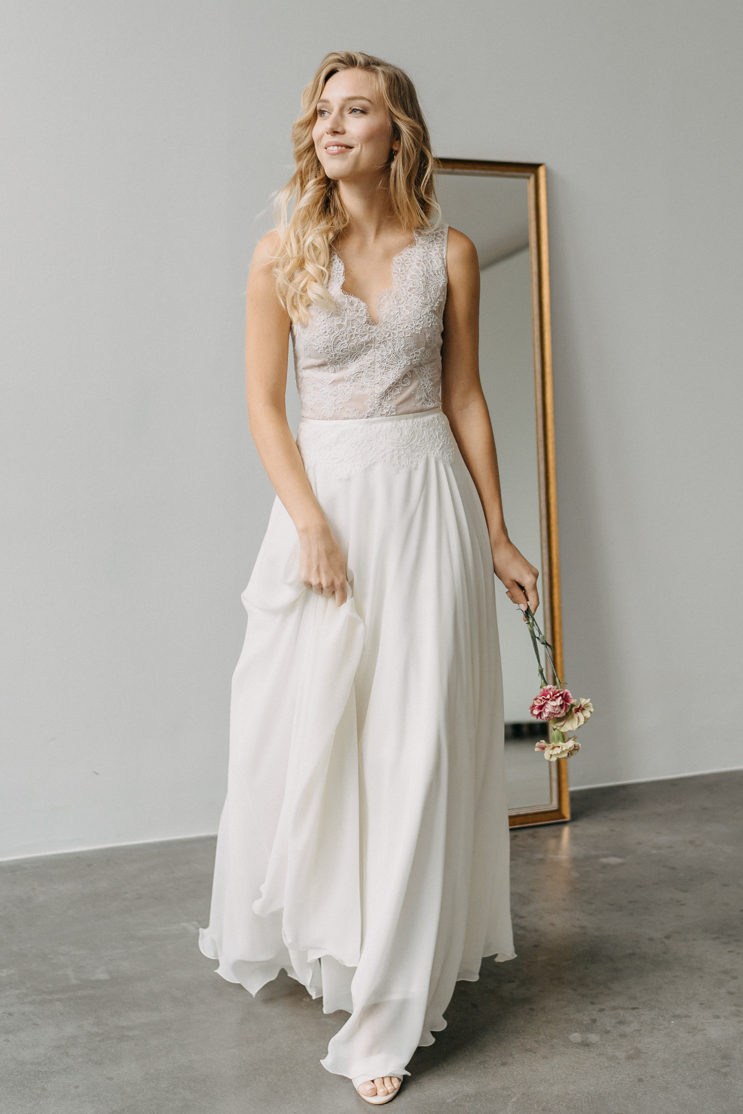 2021 Claudia Heller Brautmode Brautkleid Lilli – gesehen bei frauimmer-herrewig.de