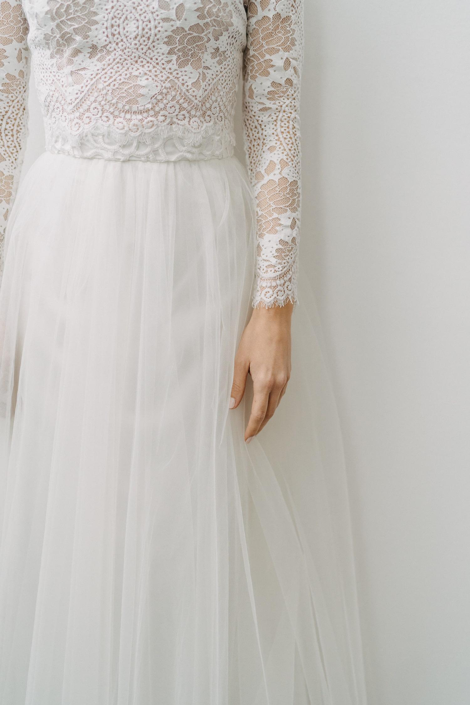 Brautkleid mit Tüllrock – gesehen bei frauimmer-herrewig.de