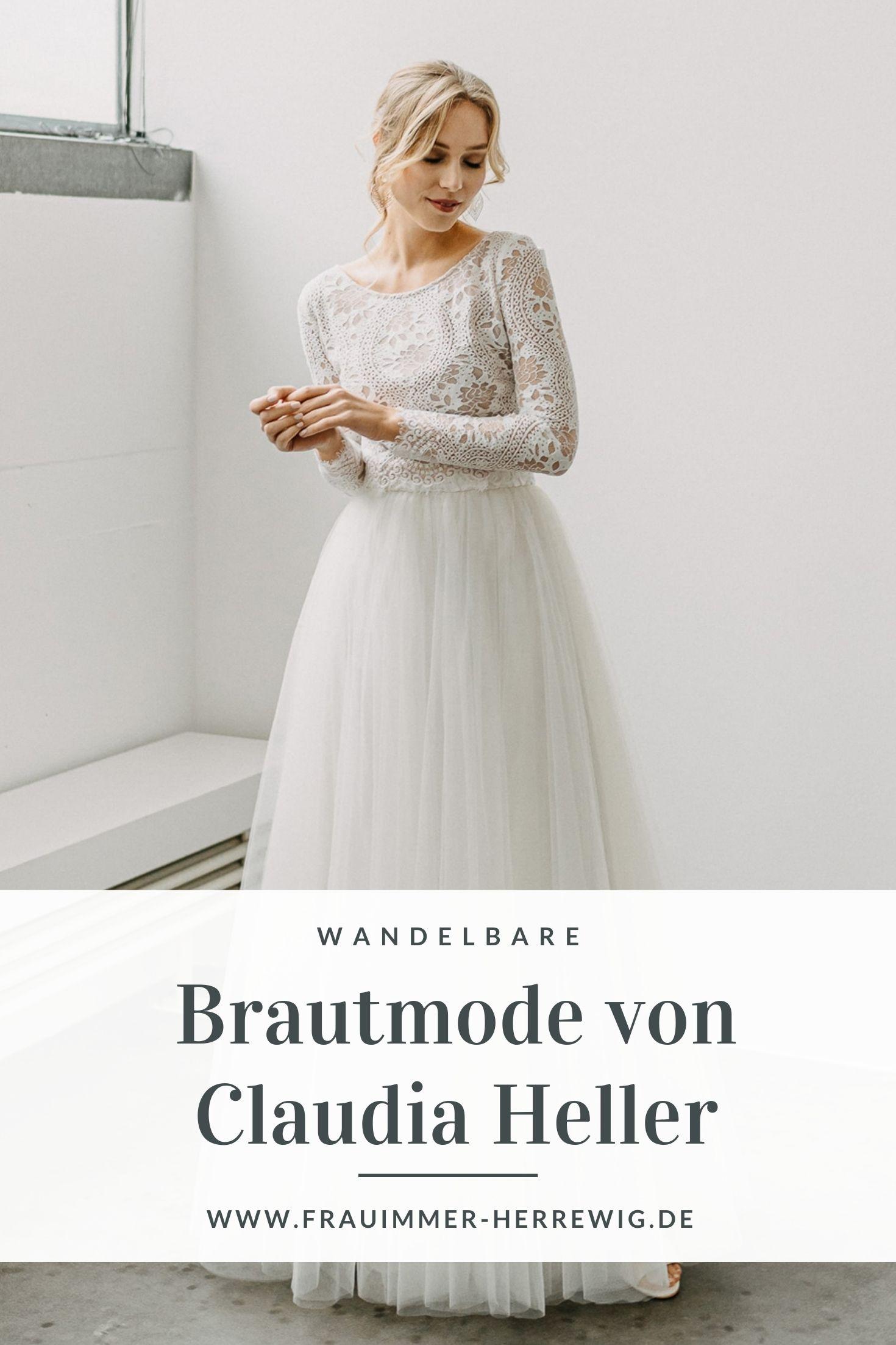 Brautkleidkollektion claudia heller – gesehen bei frauimmer-herrewig.de
