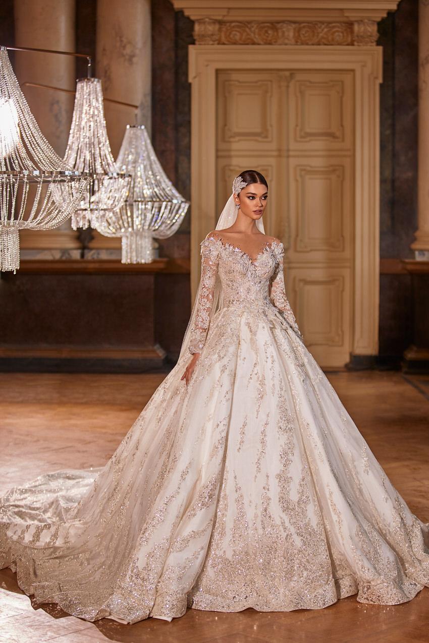 opulentes Brautkleid – gesehen bei frauimmer-herrewig.de