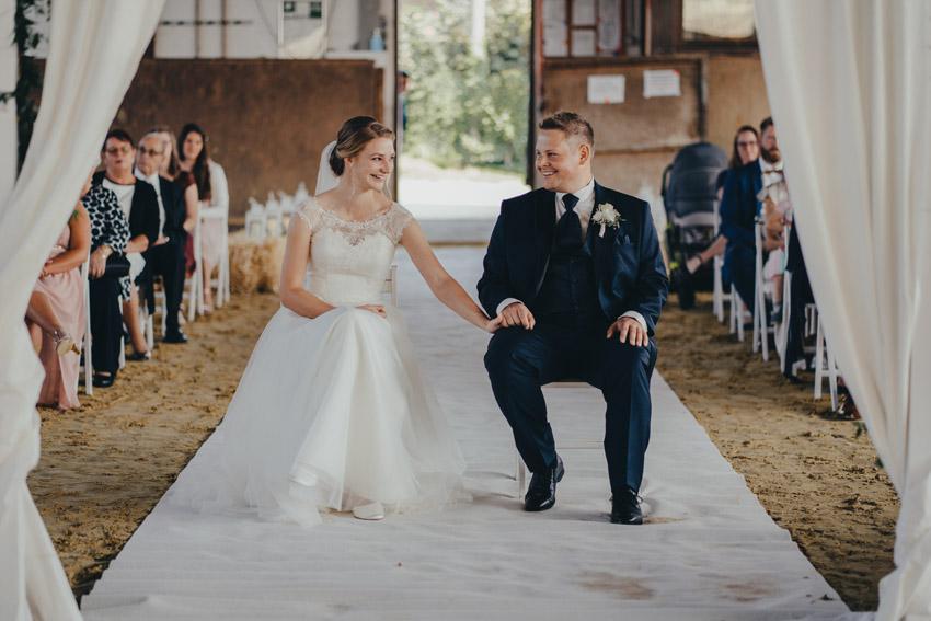 Brautpaar in der Reithalle – gesehen bei frauimmer-herrewig.de