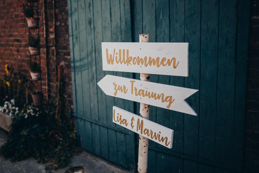 Wegweiser Hochzeit – gesehen bei frauimmer-herrewig.de