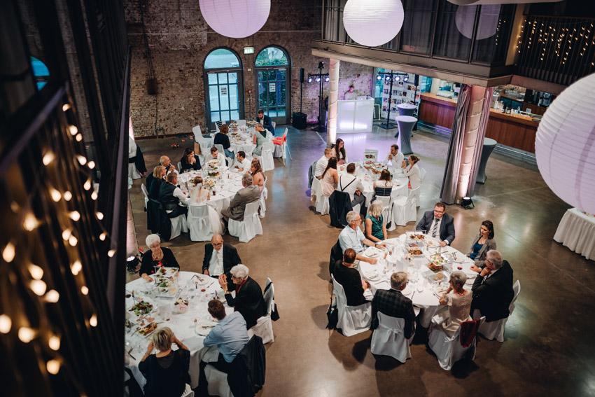 Hochzeitsdinner in der Rohrmeisterei – gesehen bei frauimmer-herrewig.de