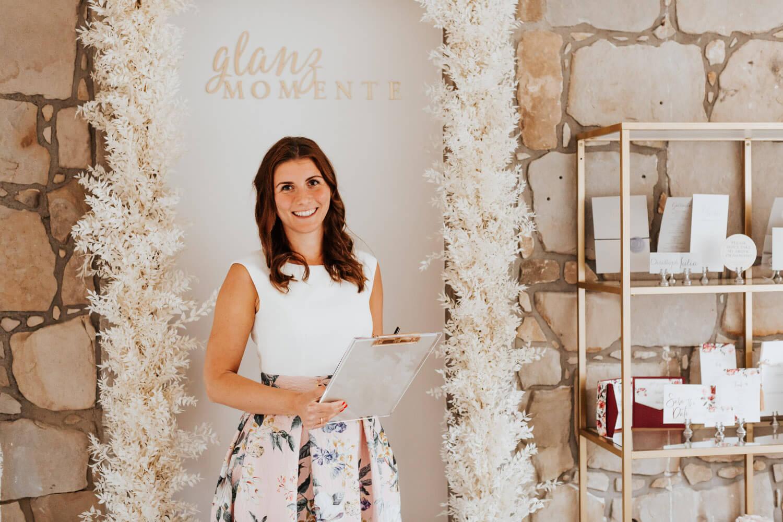 Wedding Plannerin Charlotte von Glanzmomente – gesehen bei frauimmer-herrewig.de