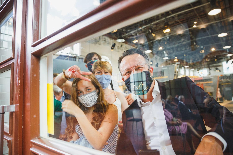 Hochzeitsgäste zu Corona – gesehen bei frauimmer-herrewig.de