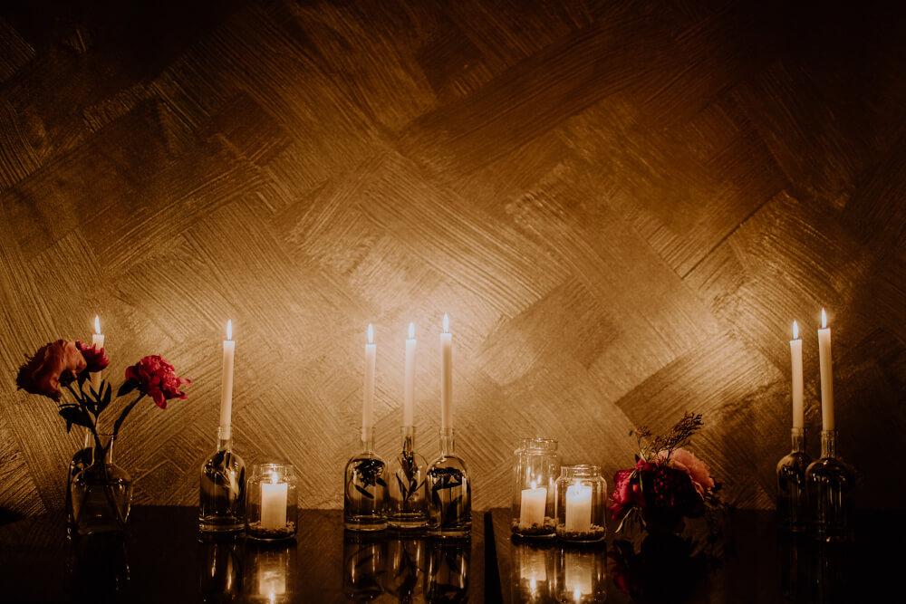Hochzeitsdekoration Kerzen – gesehen bei frauimmer-herrewig.de