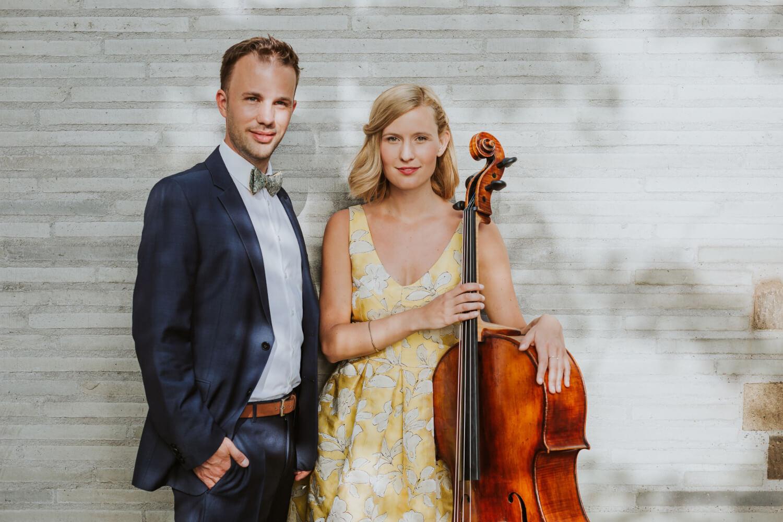 Ella und Max von Piano & Cello – gesehen bei frauimmer-herrewig.de