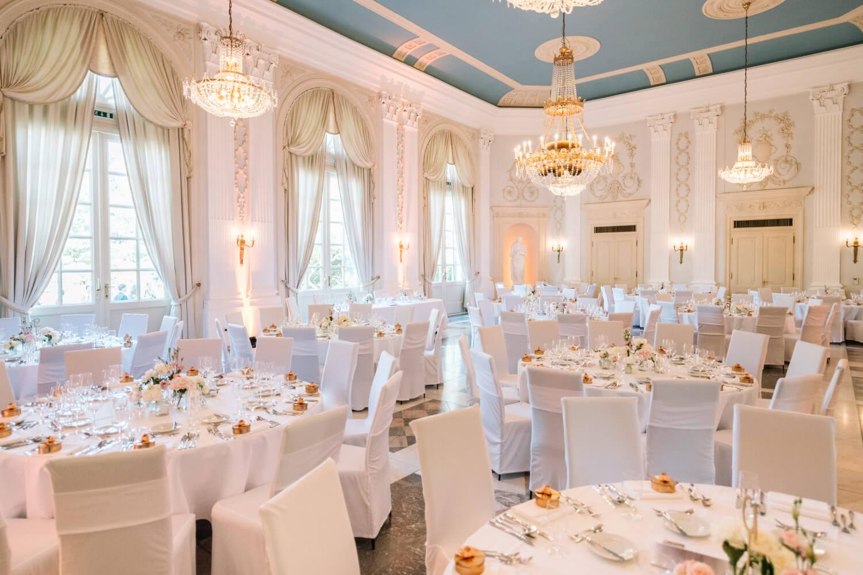 Hochzeitsfeier im Festsaal – gesehen bei frauimmer-herrewig.de