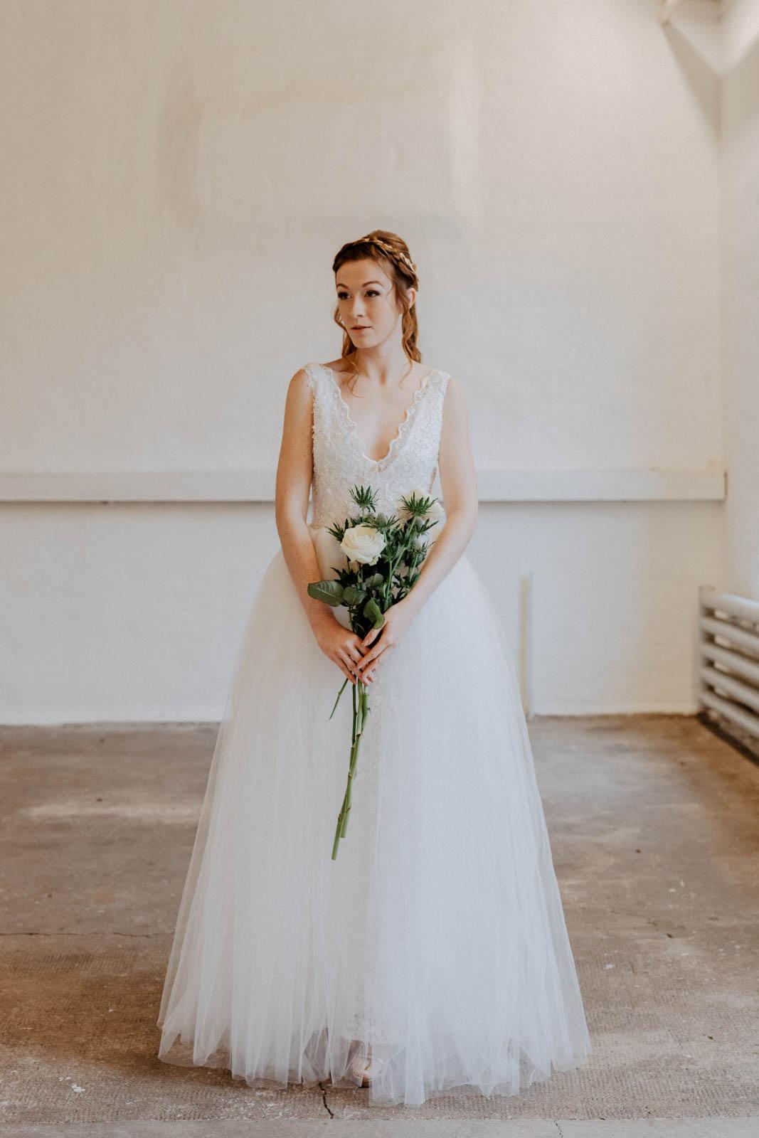 Hochzeitskleid mit Tüllrock – gesehen bei frauimmer-herrewig.de