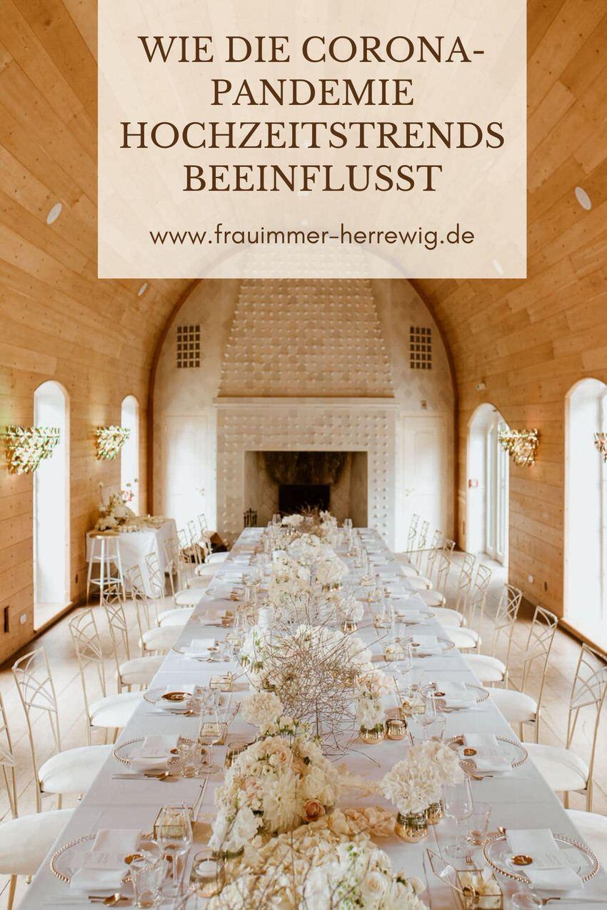 Hochzeitstisch in weiß gold – gesehen bei frauimmer-herrewig.de