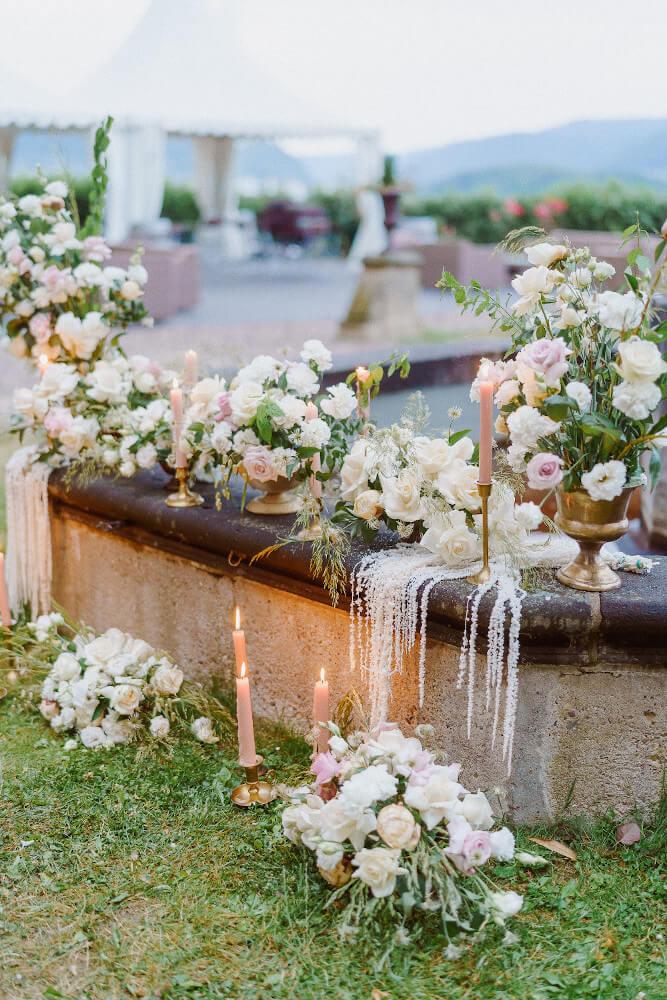 Hochzeitsdeko Rosen – gesehen bei frauimmer-herrewig.de