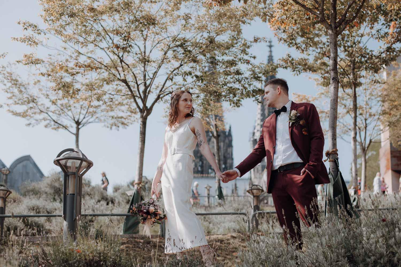 Hochzeit in Köln – gesehen bei frauimmer-herrewig.de
