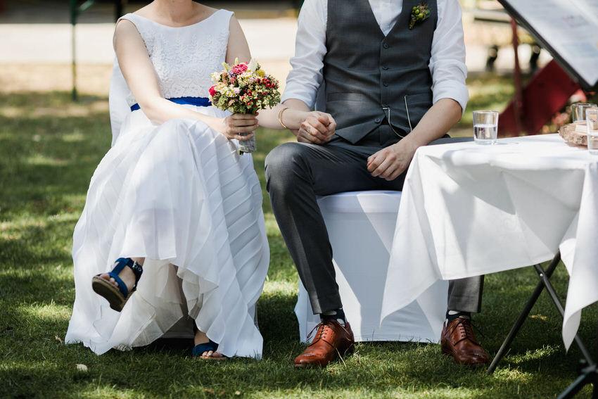 Braut und Bräutigam bei der Trauung – gesehen bei frauimmer-herrewig.de
