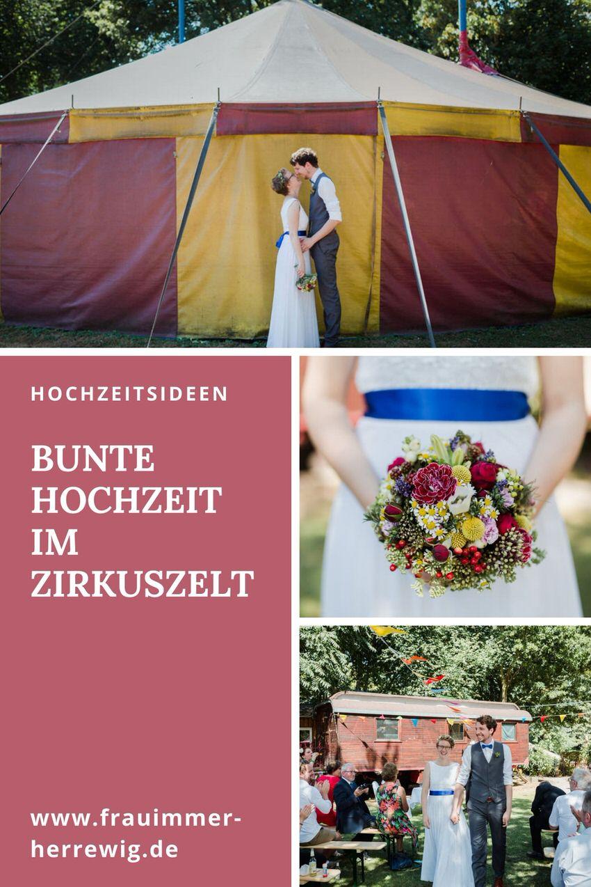 Hochzeit im zirkuszelt – gesehen bei frauimmer-herrewig.de