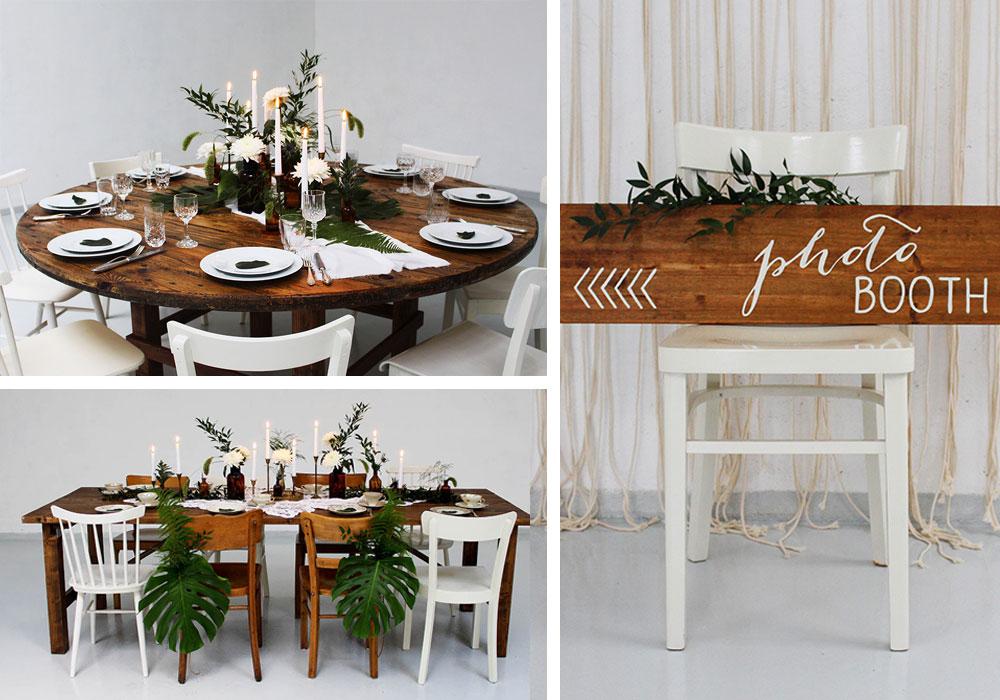 vintageverleih deko hochzeit mieten vintage st hle mieten platzwerk. Black Bedroom Furniture Sets. Home Design Ideas