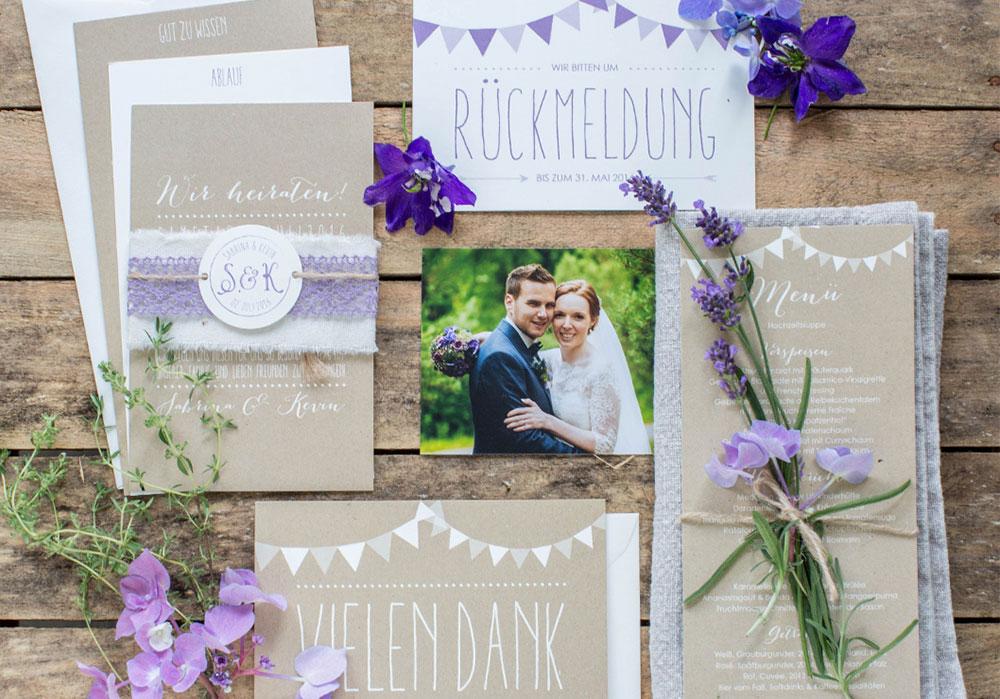 Hochzeitspapeterie Hochzeitseinladung Hochzeitsdesign Marry Paper