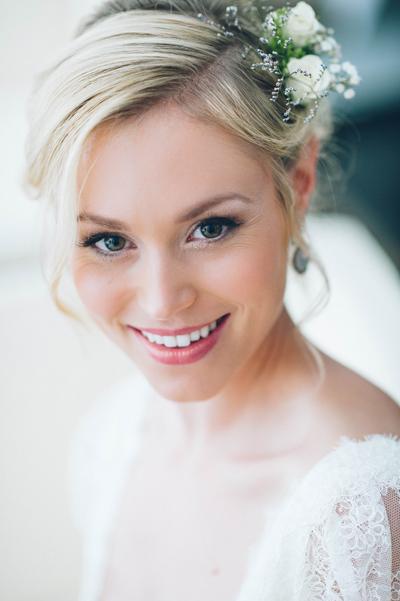 Brautfrisur und make up koln