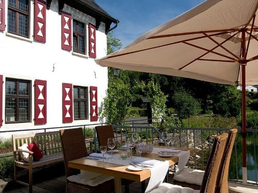 Café der Malteser Komturei – gesehen bei frauimmer-herrewig.de
