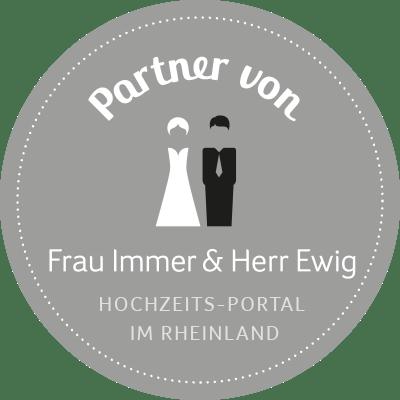 Hochzeit Köln, Hochzeit Bonn, Hochzeit Düsseldorf - Frau Immer & Herr Ewig