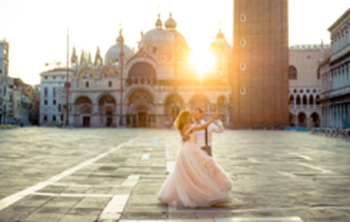 After-Wedding-Shooting in Venedig von Kerstin und Paul
